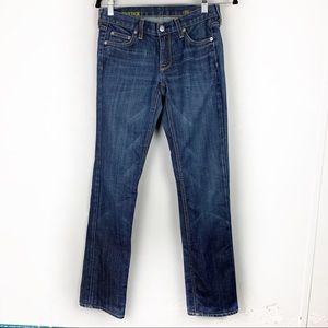 J.CREW Matchstick Jeans Dark Blue Wash 26